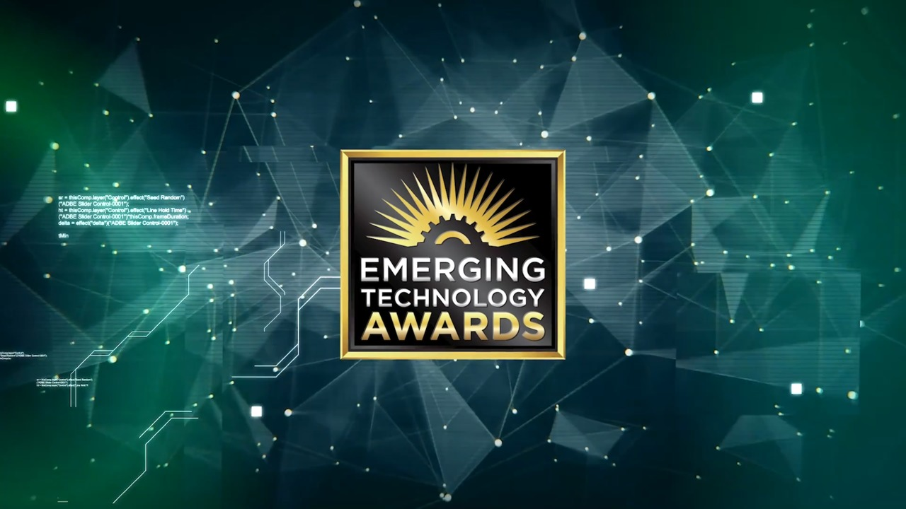 Video: 2020 Emerging Technology Awards