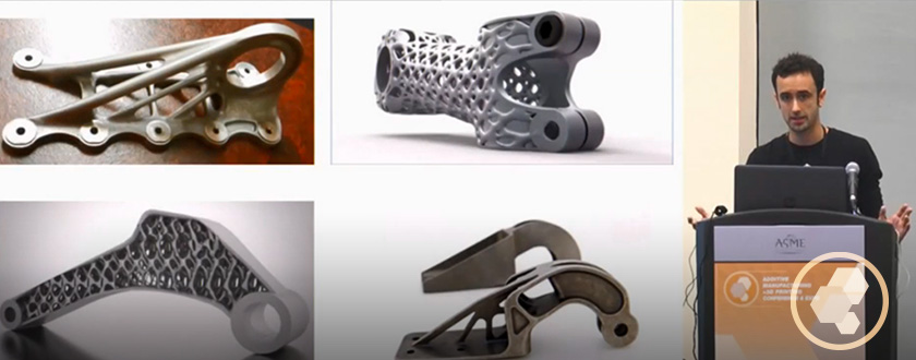 Design for Additive Manufacturing Workshop Video Series AM3D Conference - August 2016