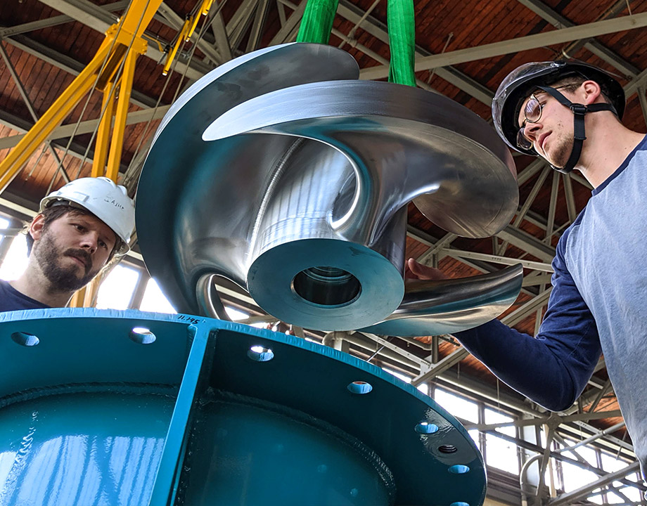 Fish-Safe Turbines Empower Small-Dam Hydro Projects - ASME