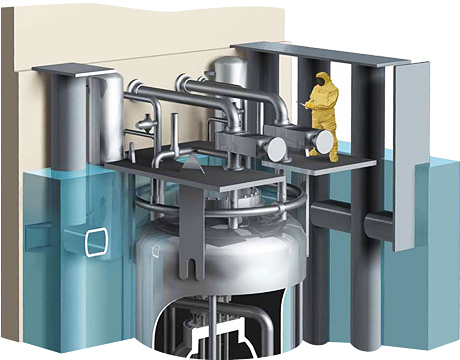 Small modular nuclear reactors gain traction - Small reactor space engineers gallery ...