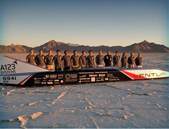 he team behind the Venturi Buckeye Bullet (VBB)