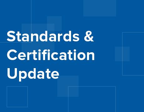 Standards & Certification Update - ASME