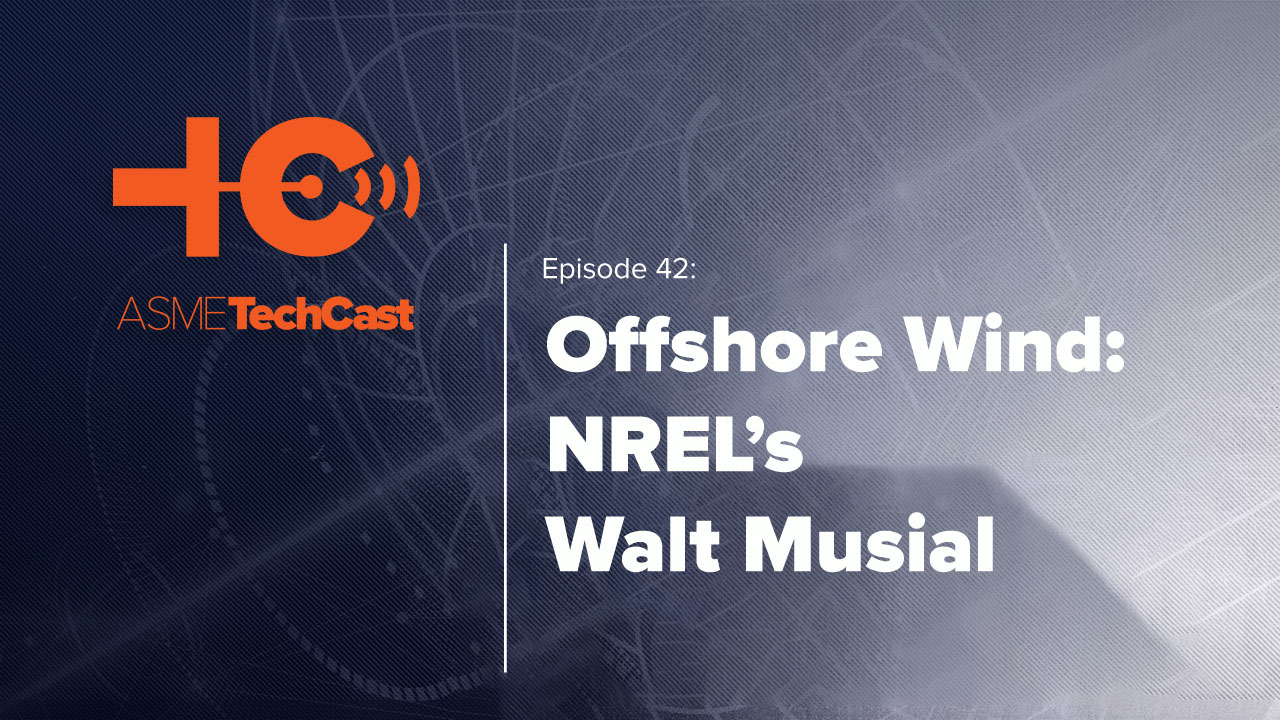 Podcast: NREL's Walt Musial Talks Offshore Wind