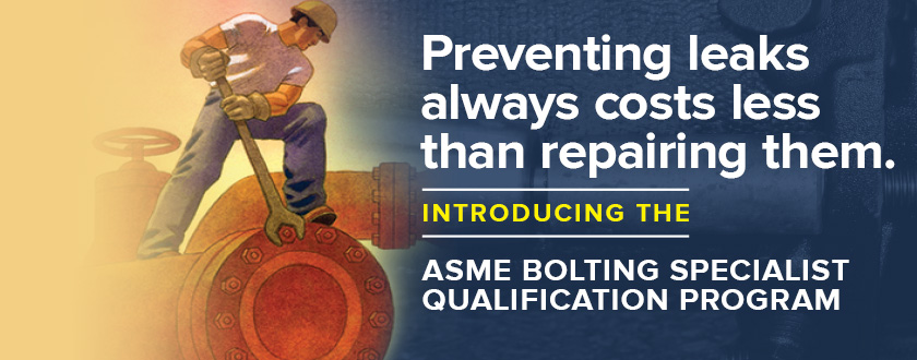Bolting Specialist Qualification Program