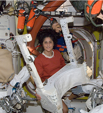 sunita williams in space station - photo #21