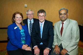 Susan Skemp, Terry Shoup, Gene Feigel, and Anil Saigal