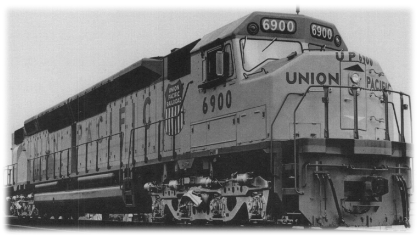 Union Pacific Big Boy 4023 And Centennial 6900