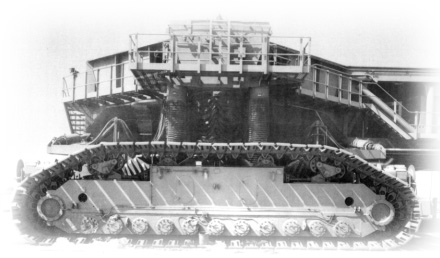 Crawler Transporters of Launch Complex 39