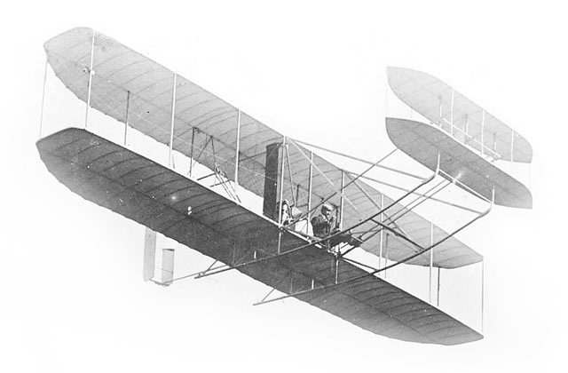 how to make a wright brothers airplane model
