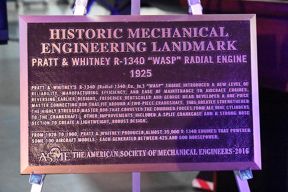#260 Pratt & Whitney R-1340 Wasp Radial Engine