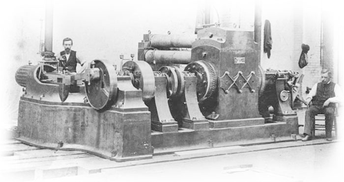Edison Jumbo Enginedriver Dynamo