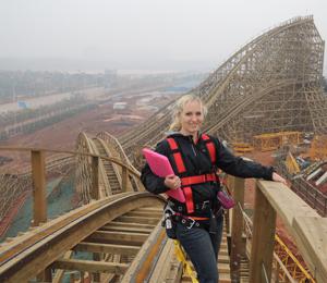 Mechanical Engineer Anya Lehrner Attains Dream Job As Roller Coaster Designer Asme
