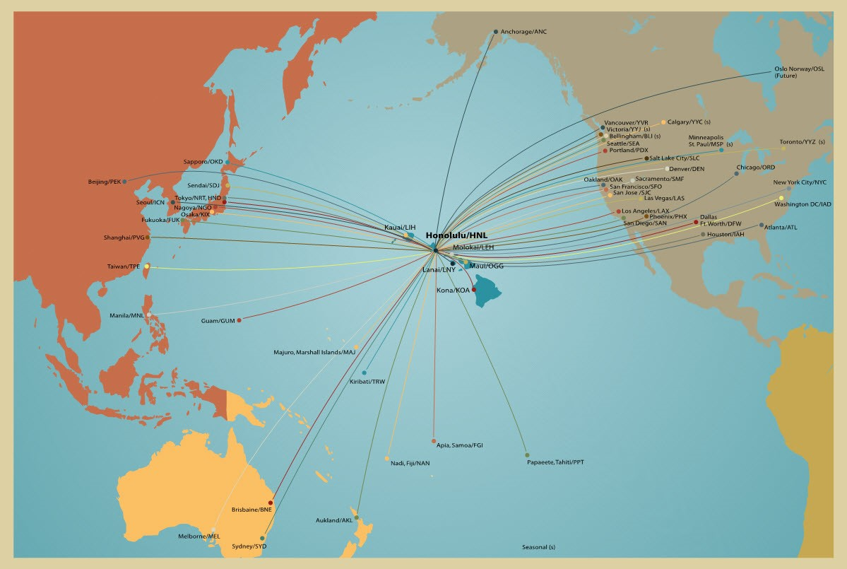 Hawaii Pacific Routes